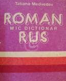 Mic dictionar roman - rus (10 000 cuvinte, 1989)