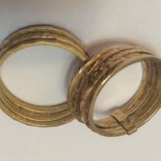 Verighete Aur 18 K Model Veriga , Noi ( 9,63  Gr )