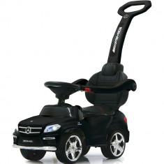 Masinuta cu maner pentru copii 3 in 1 Mercedes GL63 AMG PREMIUM Negru