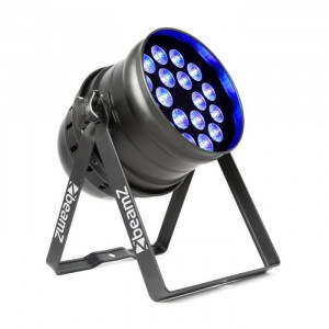 Beamz Beamz bpp100 par 64, reflector cu led-uri, 18x6 w, led-uri, 60 w, negru
