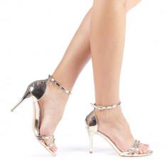Sandale dama Silvia 2 aurii