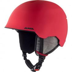 Casca Alpina Maroi JR red/skull matt