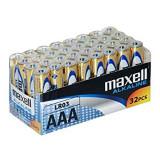 Baterii 1.5v Maxell J39968 Pachet de 32 de bucati