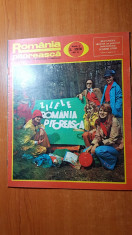 romania pitoreasca mai 1976-art.si foto localitatea jina,orasul vaslui,maramures foto