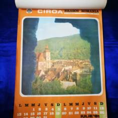 Calendar vechi Brasov. Anul 1981. Poze din Brasov si imprejurimi.