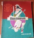 AVENTURILE BARONULUI MUNCHAUSEN - G.A.Burger  ( 1967 ) Ilustratii Eugen Taru
