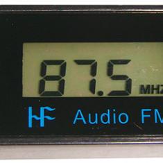 Transmitator FM, conectare prin cablu jack 3,5mm - 103046