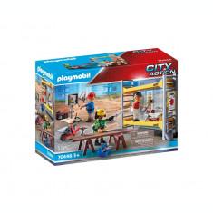Playmobil City Action - Muncitori cu schela