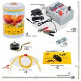 Pachet gard electric pentru câini - cu țăruși din plastic, AgroElectro
