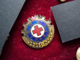 Insigna cruce rosie G.P.A.S.