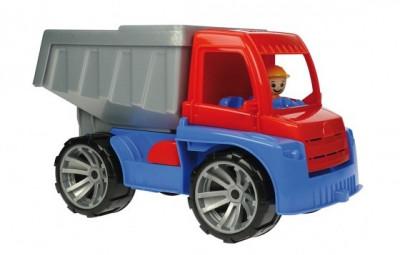 Camion Basculanta 30Cm Truxx Din Plastic Cu Figurina foto