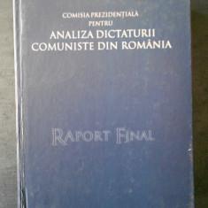 COMISIA PREZIDENTIALA PENTRU ANALIZA DICTATURII COMUNISTE DIN ROMANIA