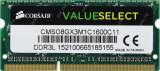 Memorie ram laptop Sodimm CORSAIR 8Gb DDR3 1600Mhz, 1.35V - CMSO8GX3M1C1600C11