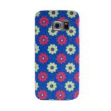 Carcasa fashion glitter Samsung Galaxy S6 Edge Contakt Albastra