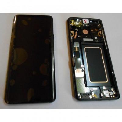 Display cu Touchscreen cu Rama Negru Samsung G965 Galaxy S9 Plus foto