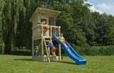 Play house blue rabbit beach hut