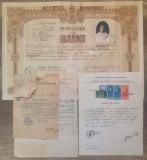 Documentele de absolvire ale unei studente din Bolgrad, perioada interbelica
