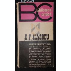 B . P . HASDEU - ***