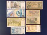 Bancnote străine - Lot bancnote străine - starea care se vede (11)