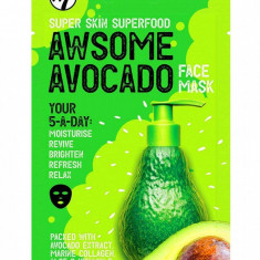 Masca hranitoare W7 Super Skin Superfood Awsome Avocado Face Mask 18 g