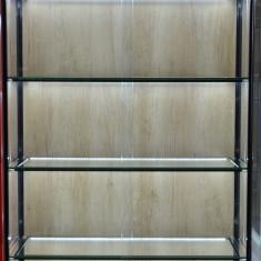 Vitrina de sticla, cu cadru de aluminiu 1000x450x1950 mm. LA COMANDA