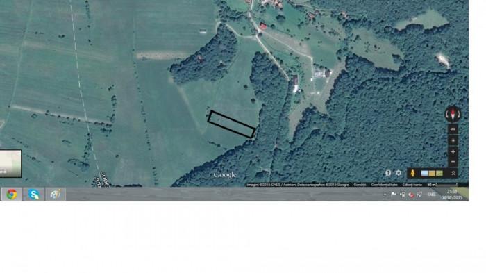 Vand 4000 mp teren la Marcus - Covasna, langa Brasov, ok pe Lg.17/2014