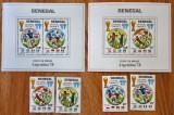 senegal-''FOTBAL-ARGENTINA-78''-2Colite+4val-=MNH