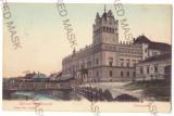 4509 - AIUD, Alba, Bridge, Romania - old postcard - used - 1908, Circulata, Printata