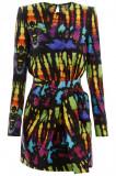Cumpara ieftin Rochie Dsquared2, Dsquared2 tie-dye dress S72CU0973 S52390 001SM Multicolor, 38