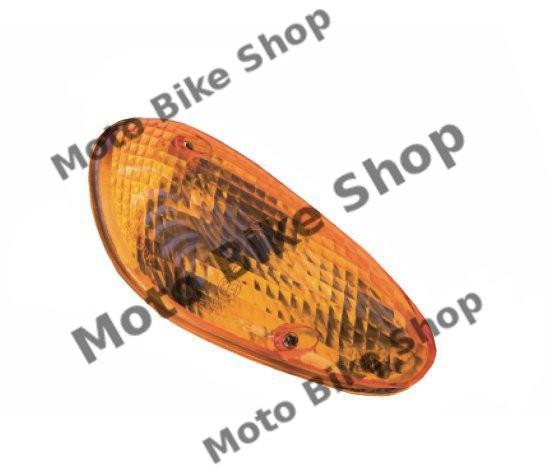 MBS Sticla semnalizare fata stanga portocalie Kymco Dink/Yager 50/125/150, Cod Produs: 7190