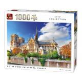 Puzzle 1000 piese Notre Dame De Paris Cathedral, France