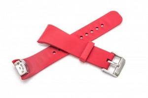 Armband dunkel-rot pentru samsung galaxy gear fit 2 smartwatch sm-r360, ,