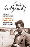 O privire filozofica | Ludwig Wittgenstein, Humanitas