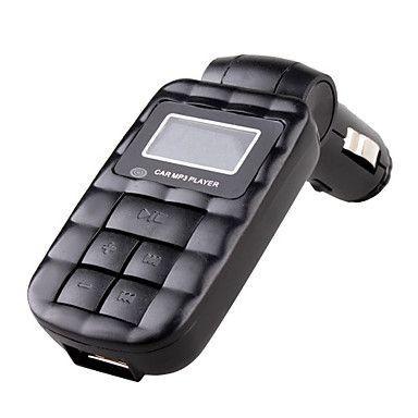 PROMOTIE || Modulator Auto FM || Car Kit Stereo cu telecomanda MP3 Player foto