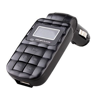 PROMOTIE || Modulator Auto FM || Car Kit Stereo cu telecomanda MP3 Player