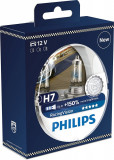 Becuri auto cu halogen pentru far Philips Racingvision +150% H7 12V 55W PX26D - Cele mai puternice becuri omologate Kft Auto