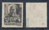 1945 ROMANIA Posta Salajului timbru local 2P pe 18f negumat original expertizat