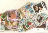 Guineea Ecuatoriala.Lot peste 90 buc. timbre+ 3 buc. colite stampilate DL.73, Africa