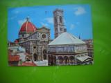 HOPCT 51271 CATEDRALA FIRENZE/FLORENTA  -ITALIA-STAMPILOGRAFIE-CIRCULATA