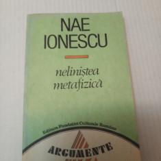 Nelinistea metafizica  - Nae Ionescu