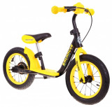 Bicicleta fara pedale SporTrike Balancer, galben