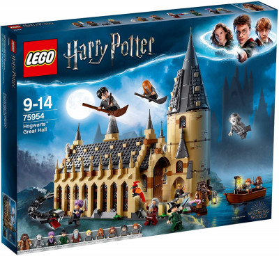 LEGO HARRY POTTER SALA MARE HOGWARTS 75954 foto