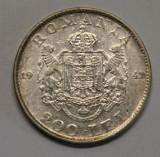 200 LEI 1942 . CU LACRIMA ., Argint