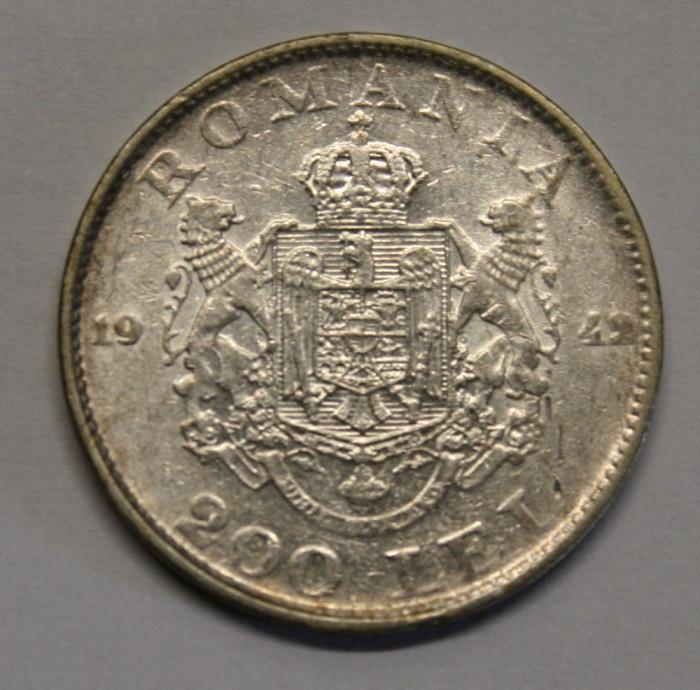 200 LEI 1942 . CU LACRIMA .