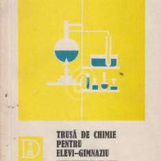Trusa de chimie pentru elevi - gimnaziu. Instructiuni de folosire