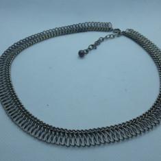 COLIER argint TRIBAL vechi MASIV manopera EXCEPTIONALA vintage DE EFECT rar