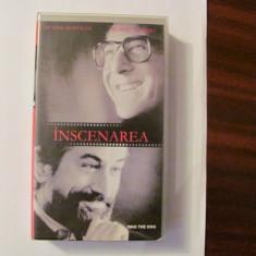 """GE - Caseta video """"Inscenarea Wag the Dog"""" Dustin HOFFMAN & Robert de NIRO 1997"""
