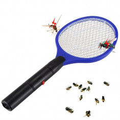 Paleta electrica anti insecte, alimentare baterii, lungime 46.5 cm