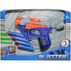 Pistol blaster cu ventuze, 1 set/cutie