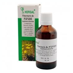 Tinctura Papadie Hofigal 50ml Cod: 2527